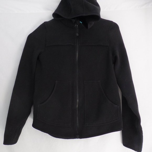 ivivva, 12, black zip up sweatshirt hoodie BNWOT
